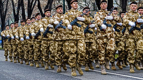 Military Parade Royalty Free Stock Image