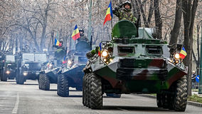Military Parade 1 Royalty Free Stock Photography