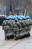 Military parade in Varna Stock Photography