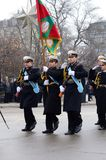Military parade in Varna Royalty Free Stock Image