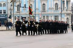 Military parade in Varna Stock Photos