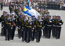 Military Parade of Victory Day Royalty Free Stock Photo