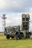 Military Patriot SAM missile system Stock Image