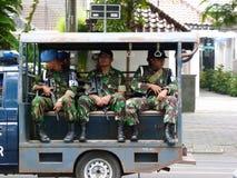 Military patrol Stock Photo