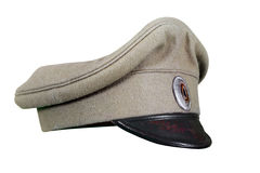 Military peaked cap Royalty Free Stock Images