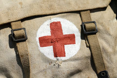 Military pharmacy kit Stock Image