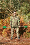 Military physical training Royalty Free Stock Photos