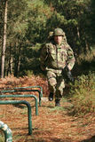 Military physical training Royalty Free Stock Photo