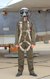 Military pilot Stock Photo