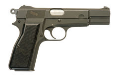 Military Pistol Stock Image