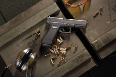 Military pistol Glock Royalty Free Stock Photos