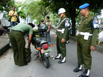 Military police Stock Image
