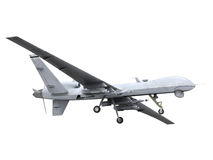 Military Predator Drone Stock Photo