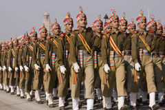 Military Procession Stock Photos