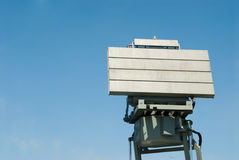 Military radar Stock Images