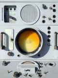 Military radar. Control panel royalty free stock photography