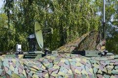 Military Radar Antenna Royalty Free Stock Photos