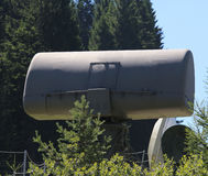 Military radar for interception of telecommunication signals Royalty Free Stock Photos