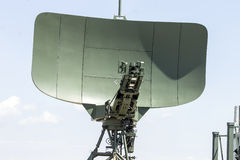 Military radar. Presented at Aviatic airshow Bucharest july 2014 Stock Photos