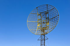Military radar station Stock Image