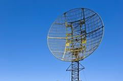 Military radar station Stock Image