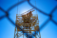 Military Radar Station Stock Photo