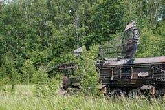 Military radar station Stock Images