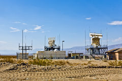 Military Radar Station near Ghosttown Ballarat Royalty Free Stock Images