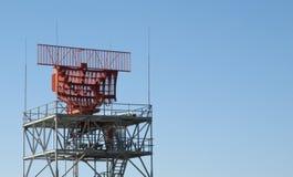 Military Radar Tower Stock Image
