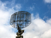 Military radio locator station Royalty Free Stock Images