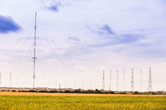 Military radio stations Royalty Free Stock Photo