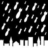 Military rain Royalty Free Stock Image