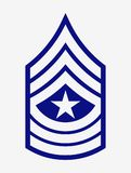 Military Ranks and Insignia. Stripes and Chevrons of Army Royalty Free Stock Photography