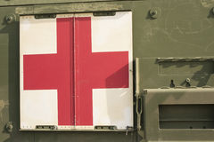 Military red cross Royalty Free Stock Photography
