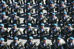 Military rehearsal Stock Photos