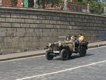 Military Retro car GAZ-64 Stock Images