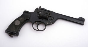 Military revolver Royalty Free Stock Image