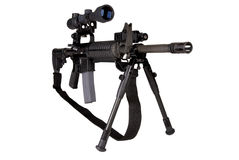 Military Rifle Royalty Free Stock Photography