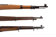 Military Rifles royalty free stock images