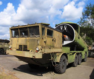 Military rocket gun vehicle. Czech army royalty free stock images