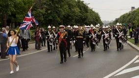 Military Royal Band from United Kingdom Royalty Free Stock Image