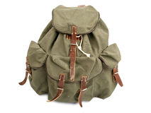 Military rucksack Stock Photography