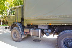 Military Russia truck Royalty Free Stock Photo