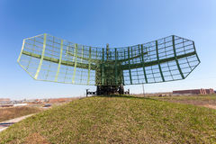 Military russian radar station Stock Images
