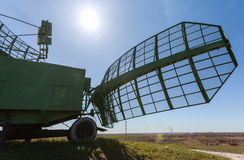 Military russian radar station Royalty Free Stock Image