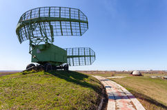 Military russian radar station Stock Photos