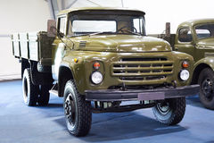 Military russian truck Zil-130 Stock Images