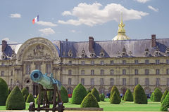 Military school on a sunny day of Paris Royalty Free Stock Photography