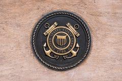 Military seal coast guard royalty free stock photos