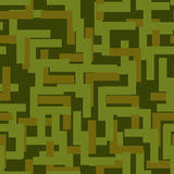 Military seamless pattern. Army abstract texture. camouflage orn Stock Photos